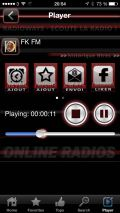 Radioways app for iPhone