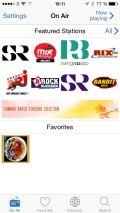 Radioline app for iPhone